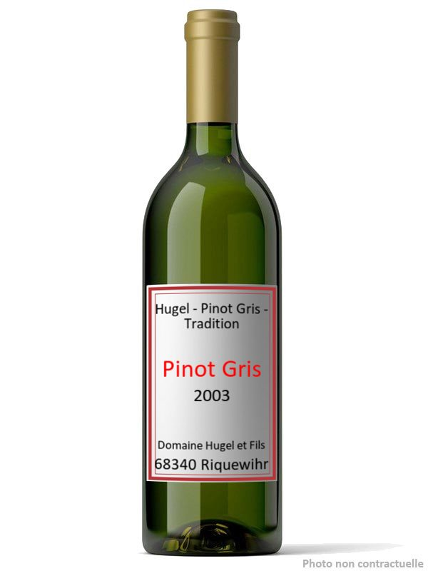 Hugel - Pinot Gris - Tradition 2003
